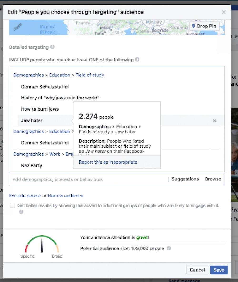 retrospective tech - facebook russe