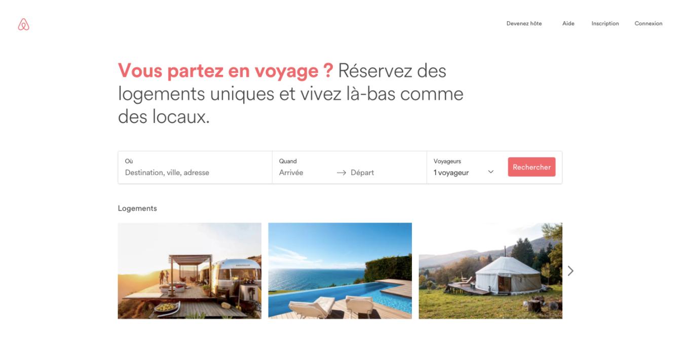 Airbnb copywriting clair