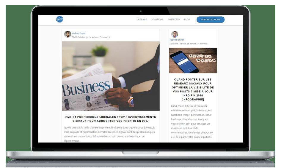 Crash test : Nous avons lancé un blog pour notre entreprise et cela s'est revélé concluant. Voici comment bloguer pour developper votre entreprise.