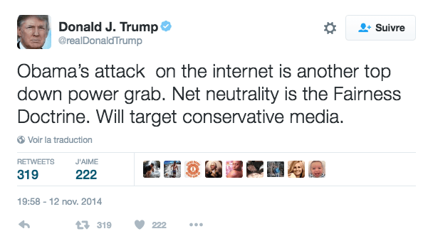 Trump est un président dont les opinions font parler, en voici quelques unes sur l'industrie tech : Apple, la sécurité informatique et d'autres sujets...